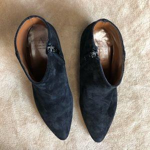 Aquatalia Shoes - Aquatalia Suede Booties